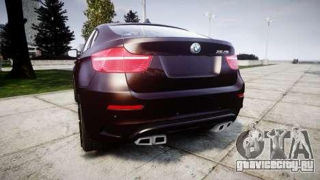 BMW X6M rims2 для GTA 4 вид сзади слева