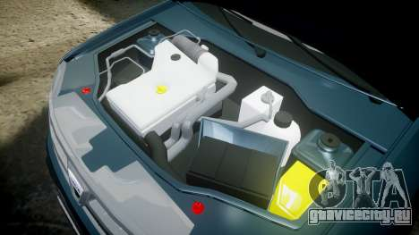 Dacia Duster 2013 для GTA 4 вид изнутри