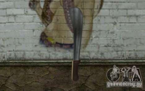 Мачете (GTA Vice City) для GTA San Andreas второй скриншот