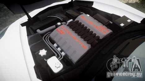 Chevrolet Corvette Z06 2015 TireCon для GTA 4 вид сбоку