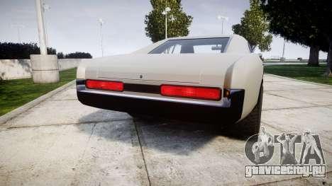 Imponte Dukes Supercharger для GTA 4 вид сзади слева