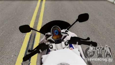 Honda CBR150FI для GTA San Andreas вид сзади слева