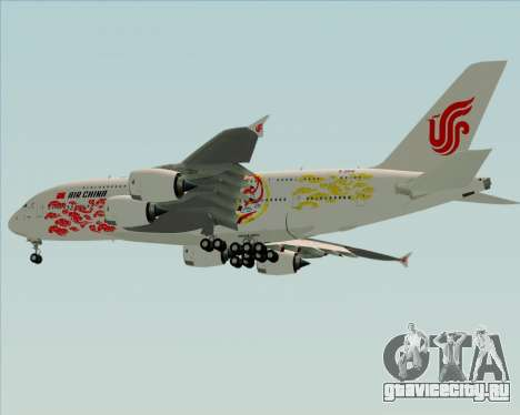 Airbus A380-800 Air China для GTA San Andreas вид сбоку