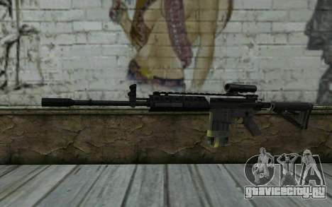 M4A1 from COD Modern Warfare 3 для GTA San Andreas