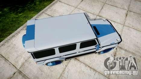 Mercedes-Benz G55 AMG Grand Edition Hamann для GTA 4 вид справа