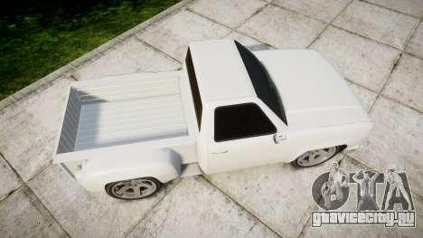 Vapid Bobcat Badass для GTA 4 вид справа