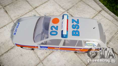 BMW 525i E39 Touring Police [ELS] JSTV для GTA 4 вид справа