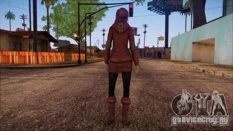 Modern Woman Skin 17 для GTA San Andreas второй скриншот
