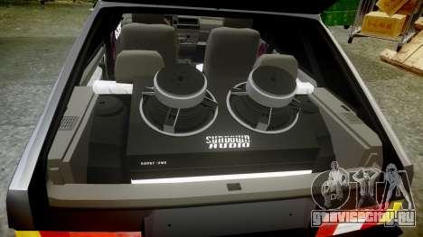 ВАЗ-2109 Девятка для GTA 4 вид сверху