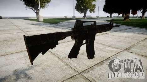 Карабин M4 CQB для GTA 4 второй скриншот