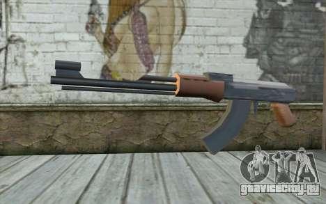 AK-47 Без Приклада для GTA San Andreas