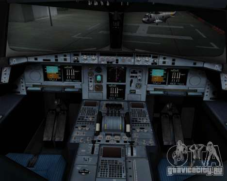 Airbus A380-800 Air China для GTA San Andreas салон