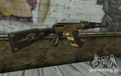 AK47 from PointBlank v1 для GTA San Andreas второй скриншот