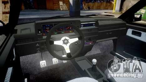 ВАЗ-2109 alloy для GTA 4 вид изнутри
