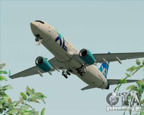 Boeing 737-800 XL Airways для GTA San Andreas двигатель
