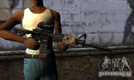 AR15 bushmaster для GTA San Andreas третий скриншот