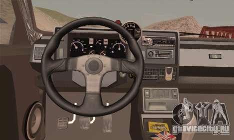 Renault 5 для GTA San Andreas вид сзади слева