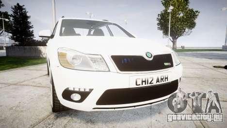 Skoda Octavia vRS Combi Unmarked Police [ELS] для GTA 4