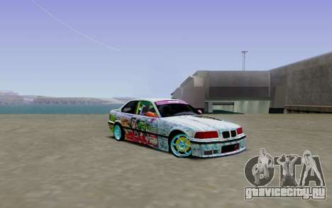 BMW E36 Bridgstone для GTA San Andreas