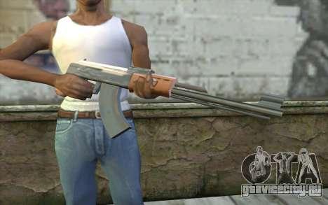 AK-47 Без Приклада для GTA San Andreas третий скриншот