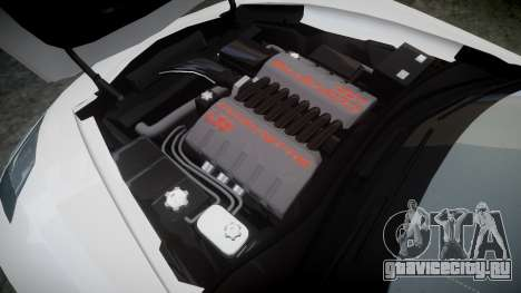Chevrolet Corvette C7 Stingray 2014 v2.0 TireBFG для GTA 4 вид сбоку