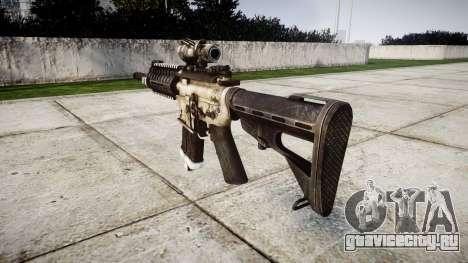 Автомат P416 ACOG PJ1 target для GTA 4 второй скриншот