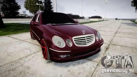 Mercedes-Benz W211 E55 AMG для GTA 4