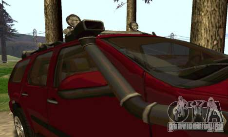 Chevrolet Tahoe Final для GTA San Andreas вид справа
