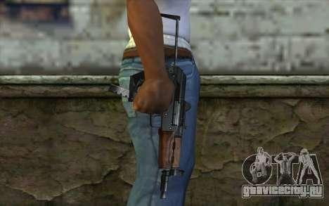 Пистолет-Пулемет Гепард для GTA San Andreas третий скриншот
