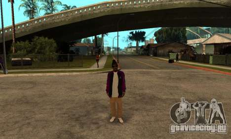 The Ballas Skin Pack для GTA San Andreas пятый скриншот