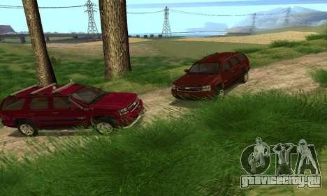 Chevrolet Tahoe Final для GTA San Andreas вид сбоку