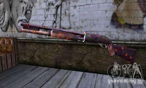 Chromegun v2 Цветная раскраска для GTA San Andreas