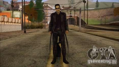 Neo Matrix Skin для GTA San Andreas