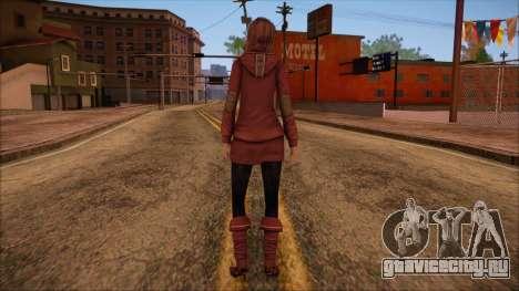Modern Woman Skin 10 v2 для GTA San Andreas второй скриншот
