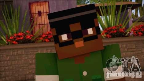 Bigsmoke Minecraft Skin для GTA San Andreas третий скриншот
