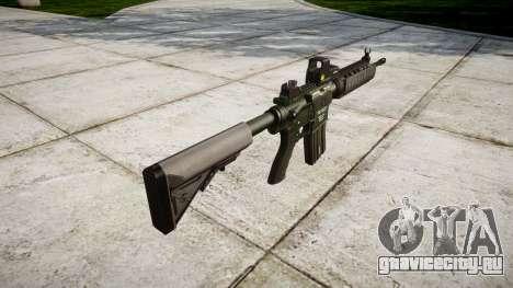 Автомат M4A1 для GTA 4 второй скриншот