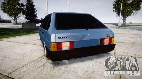 ВАЗ-2109 Lada 1500i для GTA 4 вид сзади слева