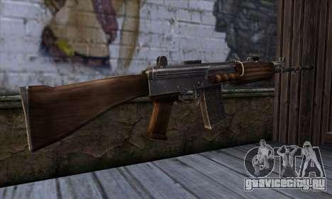 IOFB INSAS from Sniper Ghost Warrior 2 для GTA San Andreas второй скриншот