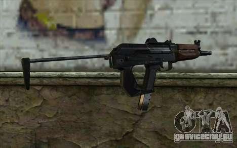 Пистолет-Пулемет Гепард для GTA San Andreas второй скриншот