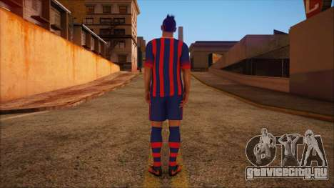 Neymar Skin для GTA San Andreas второй скриншот