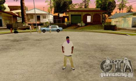 The Ballas Gang Skin Pack для GTA San Andreas