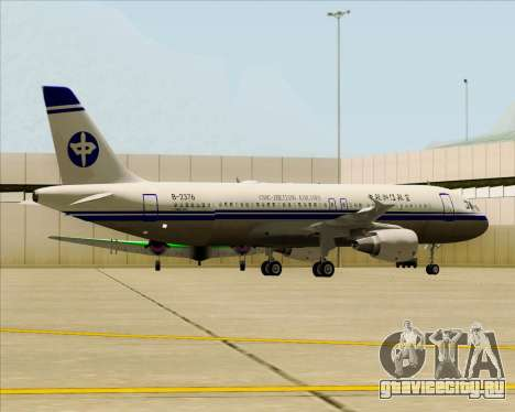 Airbus A320-200 CNAC-Zhejiang Airlines для GTA San Andreas колёса