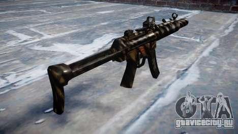 Пистолет-пулемёт MP5SD DRS FS c target для GTA 4 второй скриншот