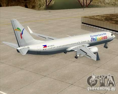 Boeing 737-800 South East Asian Airlines (SEAIR) для GTA San Andreas салон