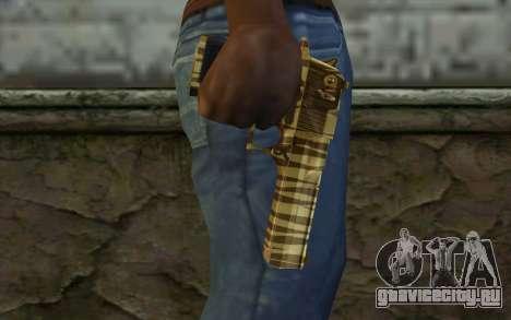 Desert Eagle Gold v1 для GTA San Andreas третий скриншот