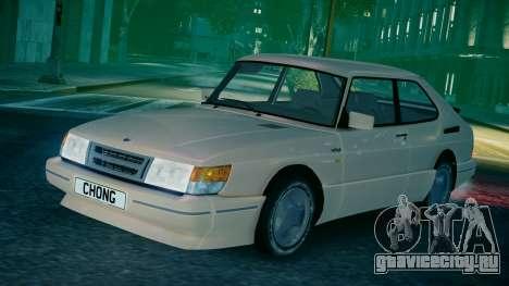 Saab 900 Coupe Turbo для GTA 4