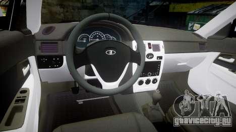 ВАЗ-2170 Lada Priora Dubai для GTA 4 вид сзади