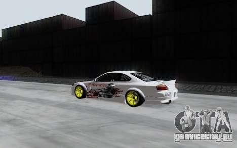 Nissan Silvia S15 VCDT для GTA San Andreas вид сзади слева