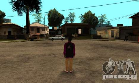 The Ballas Skin Pack для GTA San Andreas шестой скриншот