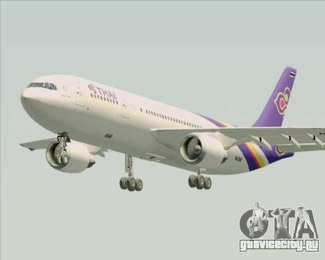 Airbus A300-600 Thai Airways International для GTA San Andreas